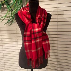 100%Cashmere scarf by charter club